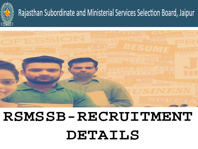 rmssb recruitment